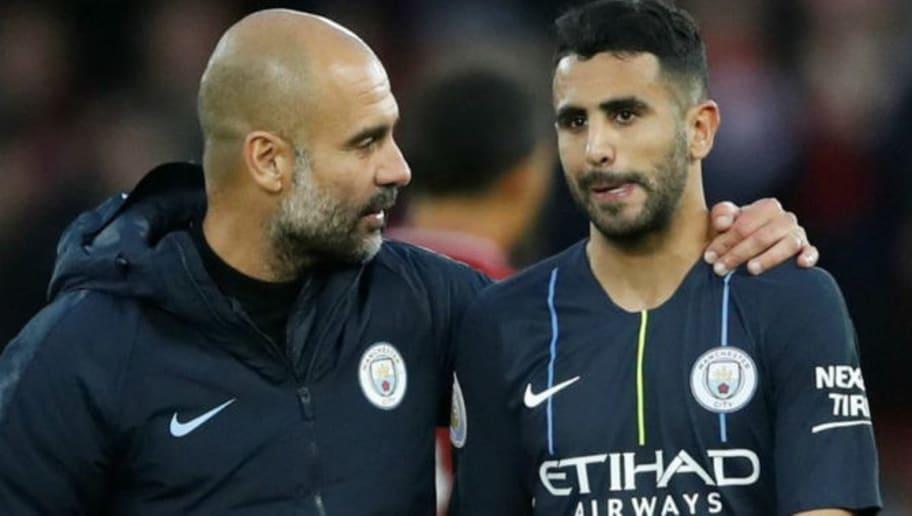 Guardiola est désolé pour Mahrez