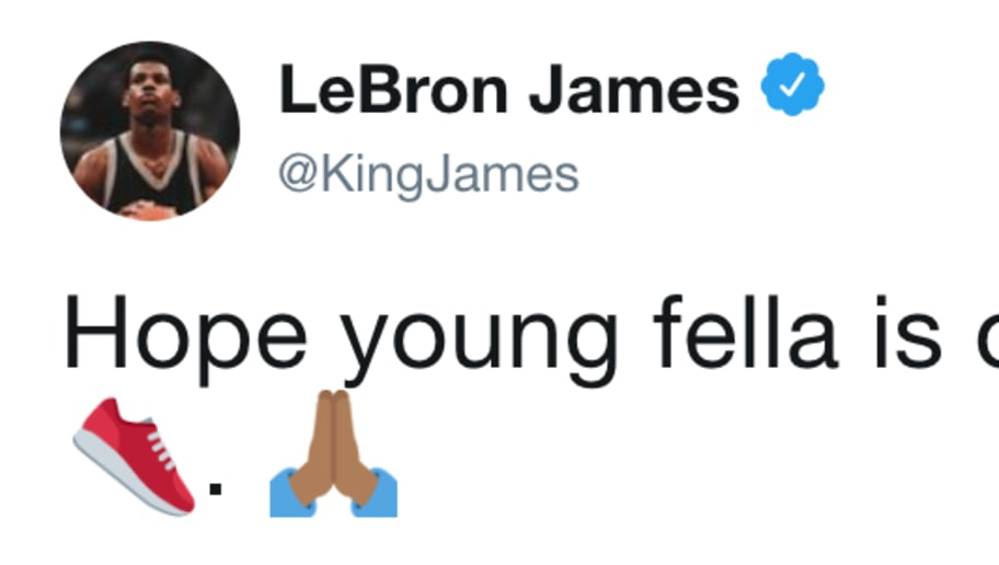 a9884df94228 LeBron James Sends Well Wishes to Zion Williamson After Insane Sneaker  Blowout and Injury