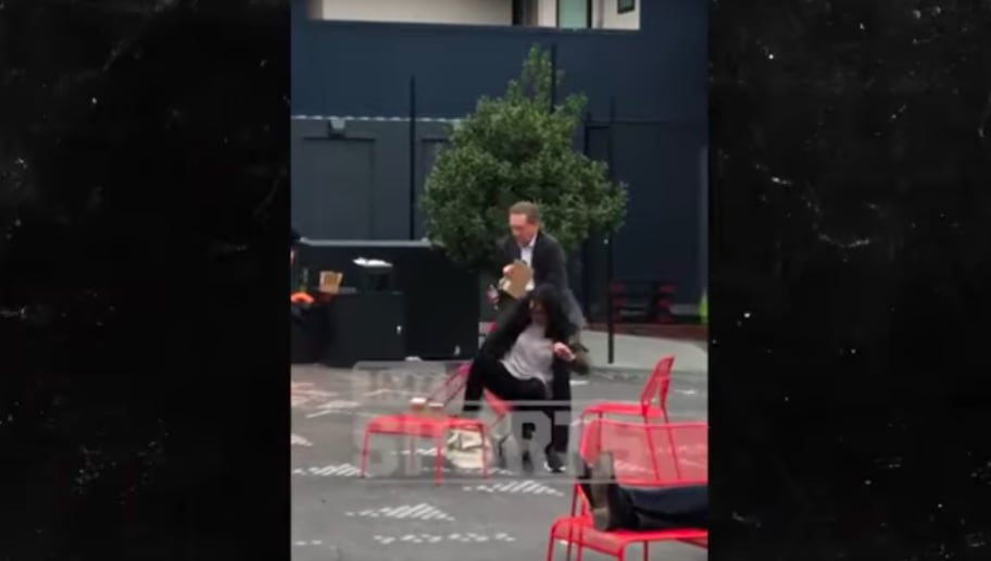 VIDEO: Giants CEO Larry Baer Caught Shoving Wife to Ground in Aggressive Attack