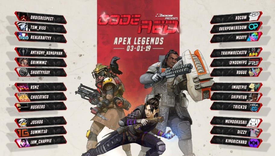 code red apex legends