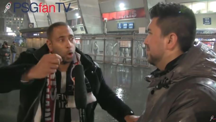 La vidéo énorme du supporter qui détruit Mbappé juste après PSG-MU
