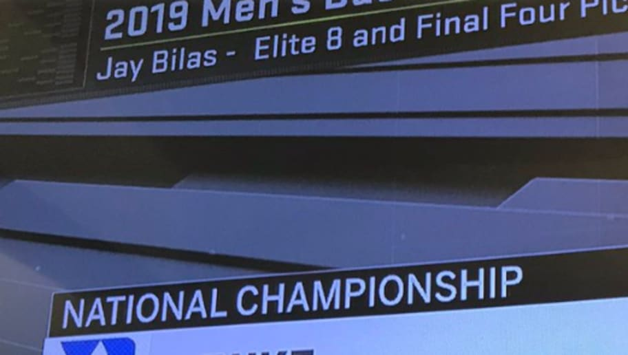 Jay Bilas' March Madness Title Game Pick Might Just Cause the End of the World