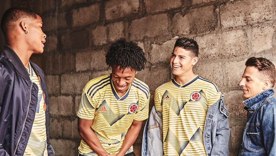 PHOTOS: adidas Unveil Brand New 2019 Home Kits for Argentina, Colombia & Mexico