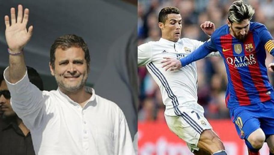 Rahul Gandhi Claims He Was a Real Madrid Fan Till Cristiano Ronaldo Played for Them