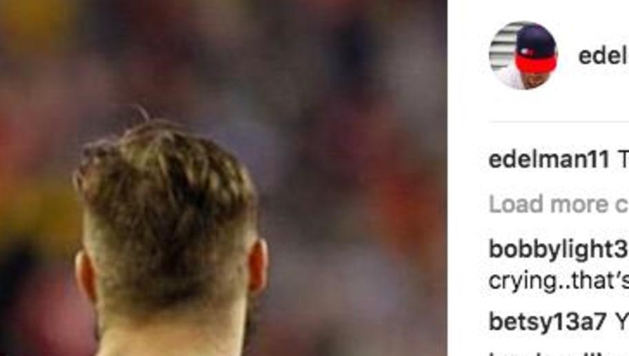 Julian Edelman Posts Instagram Reaction to Rob Gronkowski's