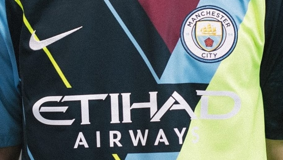 29630dbd1 Man City Launch Unique  Mash-Up  Shirt to Celebrate 6-Year ...