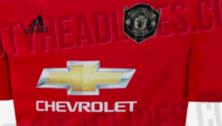 07127d6e7d3 Man Utd's Home Kit for 2019/20 Emerges Online & It's a Throwback to 1999