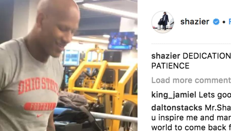 1af1a1dfe98 VIDEO  Steelers LB Ryan Shazier Injury Recovery Shows Major Progress in New  Instagram Clip