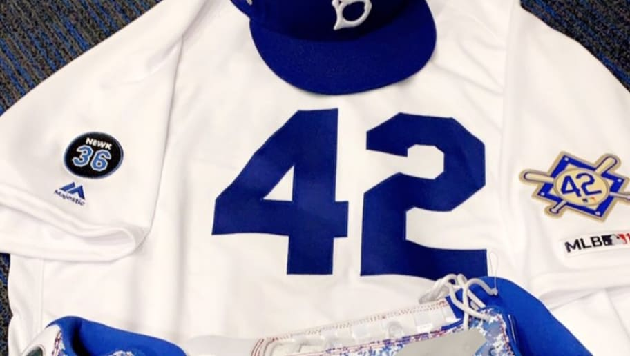 26cc08a5d53 Dodgers  Kenley Jansen Will Rock Awesome Custom Cleats in Honor of Jackie  Robinson