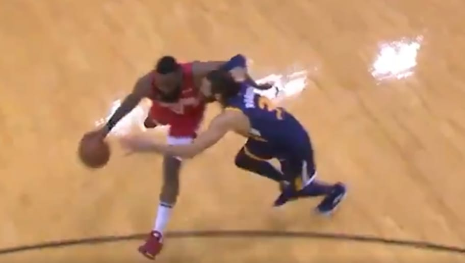 e40f863eb2bf VIDEO  James Harden Embarrasses Ricky Rubio Half to Death With Lethal  Crossover