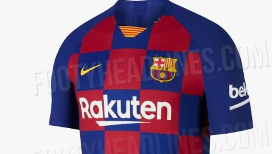 757f7514f92 Así son las camisetas que se han filtrado para la temporada 2019 ...
