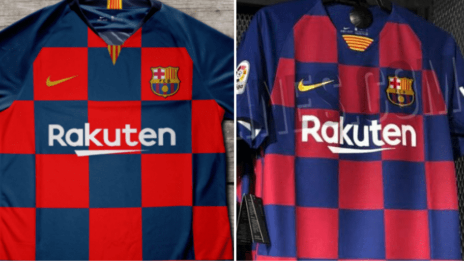 buy online 00601 4eb46 FC Barcelona Reportedly Planning Unique Home Kit for Next ...