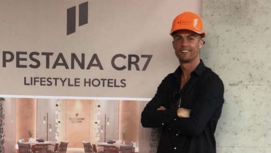 Checking-in: Cristiano Ronaldo Visits His New Luxury Hotel Construction Site in Morocco