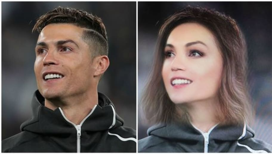 How Would Famous Footballers Look if They Used the Gender Swap Filter on Snapchat?