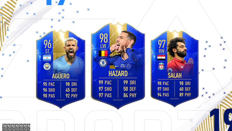 FIFA 19: Ranking the New Premier League Team of the Season Cards | 90min
