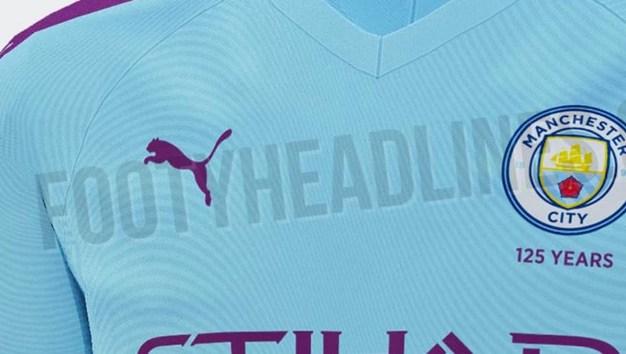 promo code f3469 61a5b Manchester City Home Kit 2019/20: Leaked Images of Brand New ...