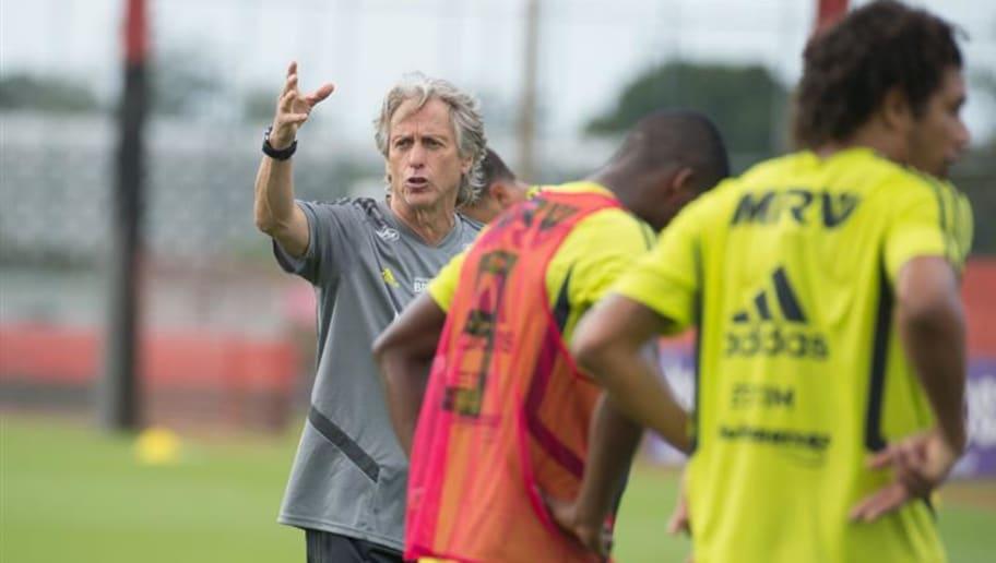 cd6d2d6ce3 Empolgação? Jorge Jesus elogia grupo e infraestrutura do Flamengo ...