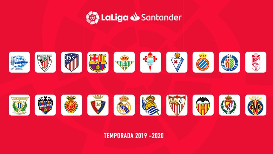 Calendario Liga Santander 2019 20 Betis.Oficial Asi Queda El Calendario De Laliga Para La