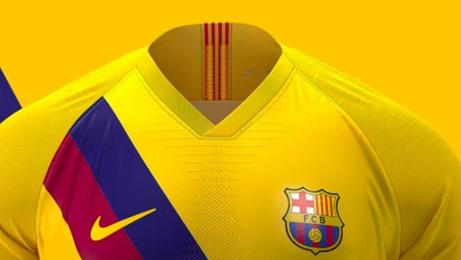 online store b1a61 07e76 Barcelona 2019/20 Away Kit: La Blaugrana Release Stylish ...