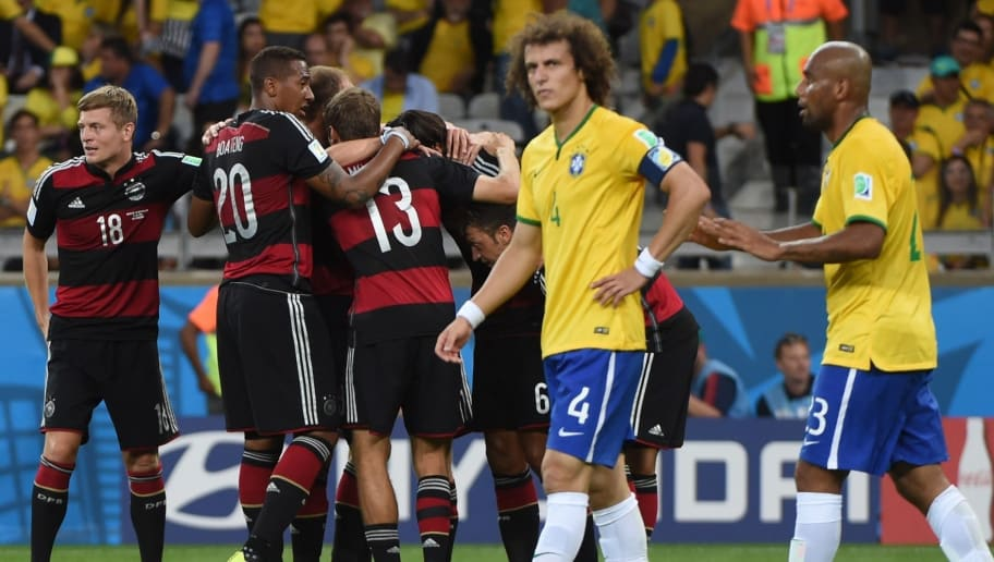 Brazil's 7-1 Loss Against Germany in 2014 Voted as Greatest World Cup Moment