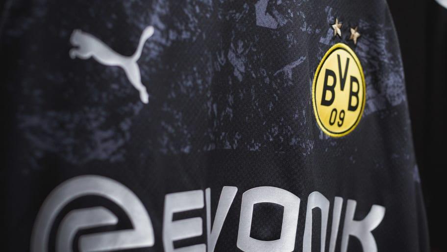 buy popular 75e1f a9f16 Borussia Dortmund Unveil Sleek New Black & Silver Away Kit ...