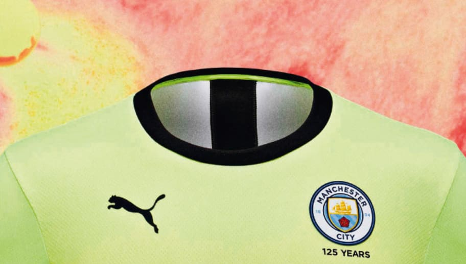 Manchester City Kit 2019/20: Fans Repulsed as Citizens Release Fluorescent Third Strip