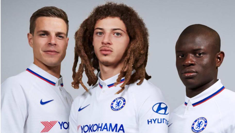 Chelsea Away Kit: Club Reveal Mod-Inspired White Kit For