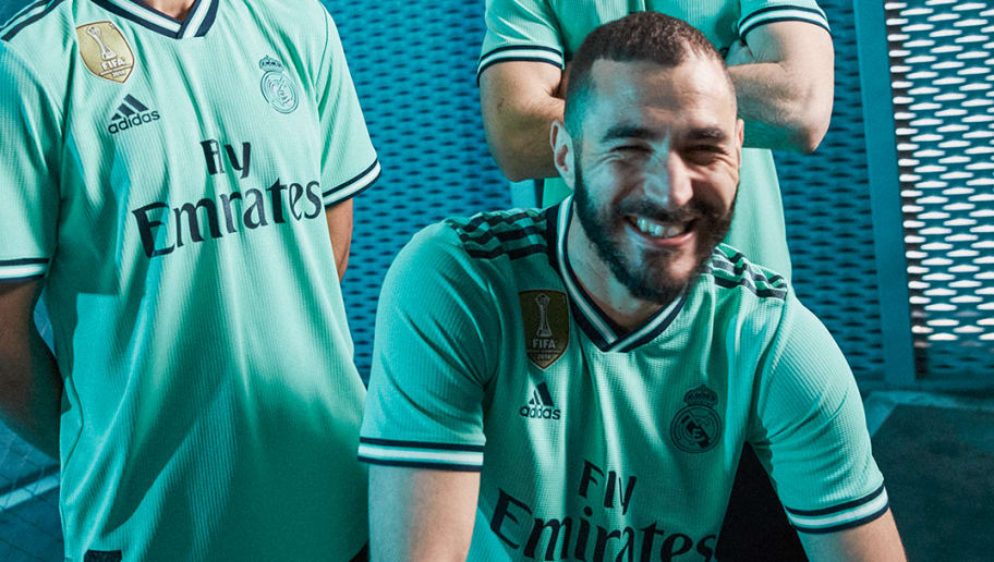 timeless design 4099a 8fcdb Real Madrid Launch Brand New Intense Green adidas Third Kit ...