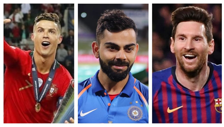 Virat Kohli Terms Cristiano Ronaldo the 'Most Complete Player' Ahead of Leo Messi and Other Legends