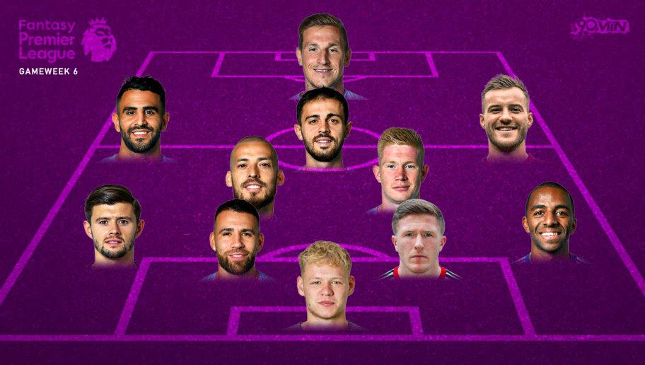 Premier League Fantasy Football: The Dream Team From Gameweek 6