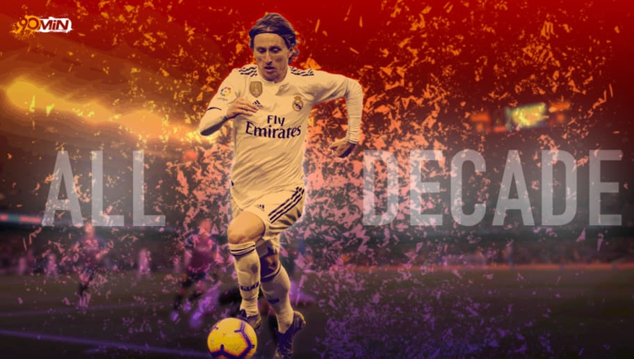 Luka Modric: The Only Other Ballon d'Or Winner of the Decade