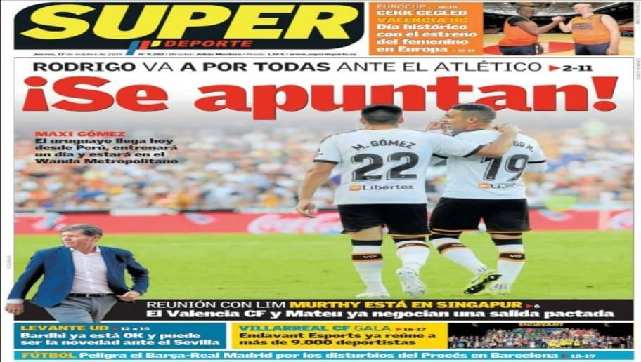 La Bota de Oro de Messi y la incertidumbre del Clásico copan las portadas 5