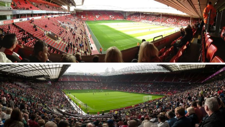 Research Reveals Anfield and Old Trafford as the Two Most Instagrammed Stadiums in England