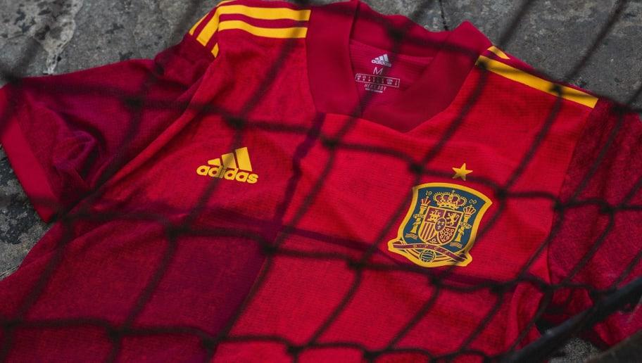 adidas Spanien 2020 Pre Game Hose Navy