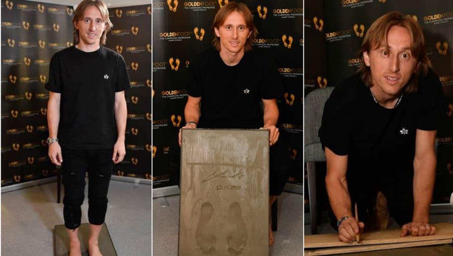 Luka Modric Wins 2019 Golden Foot Award