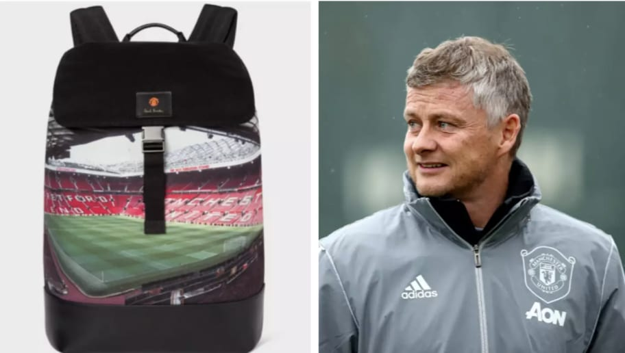 Manchester United Release Disgusting £440 Backpack With Old Trafford Picture