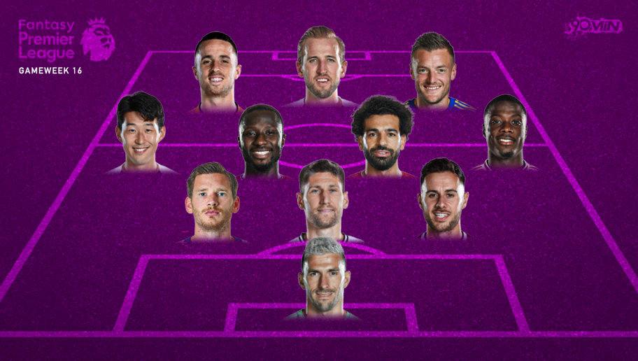 Fantasy Premier League: Dream Team From Gameweek 16