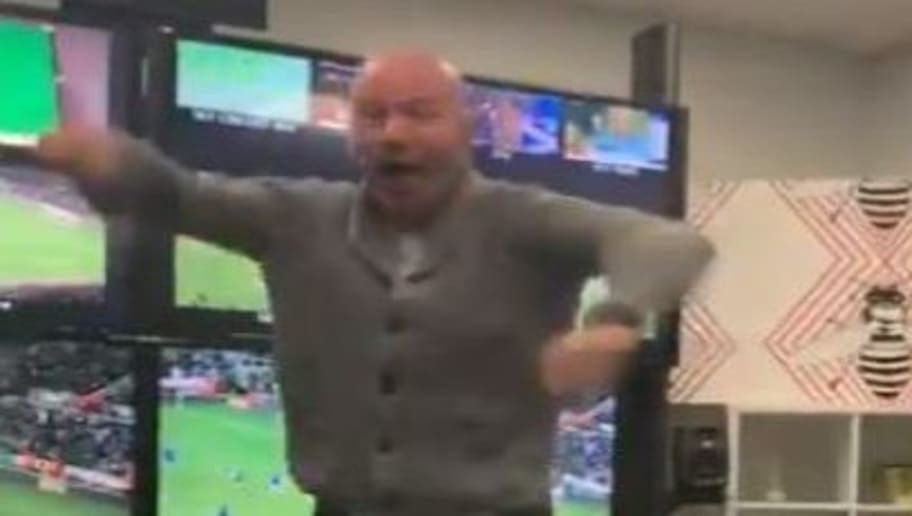Video Captures Alan Shearer's Wild Celebrations After Newcastle Stun Chelsea