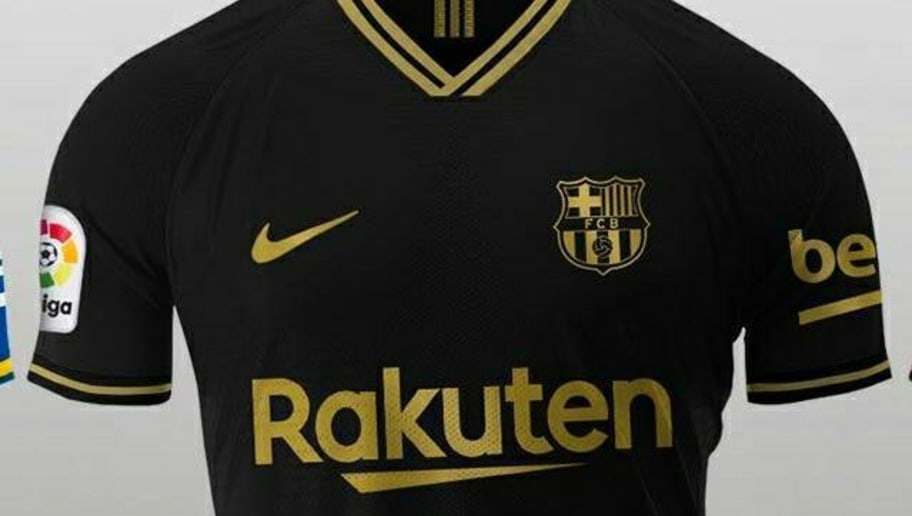 Barcelona Away Kit 2020/21: Leaked Images Emerge as Blaugrana Set to Go Black & Gold