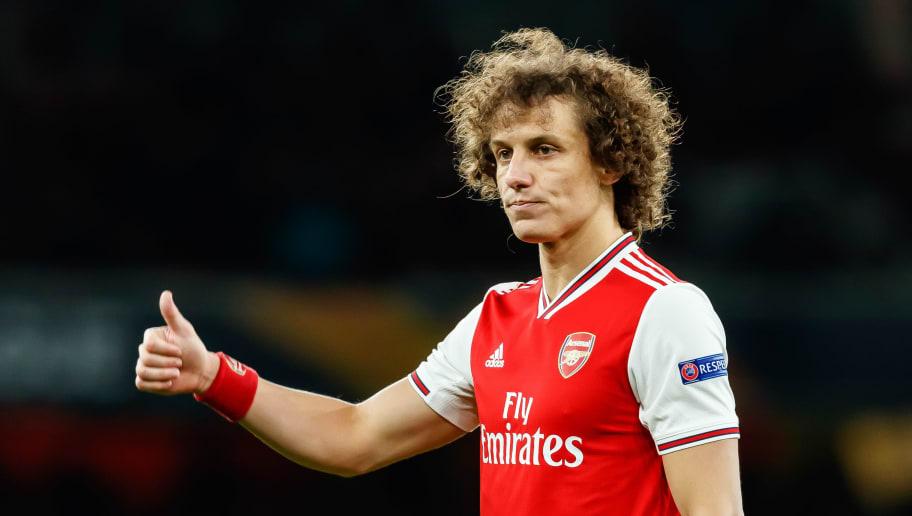 Bleibt er oder geht er? David Luiz' Zukunft bei den Gunners ist noch ungewiss