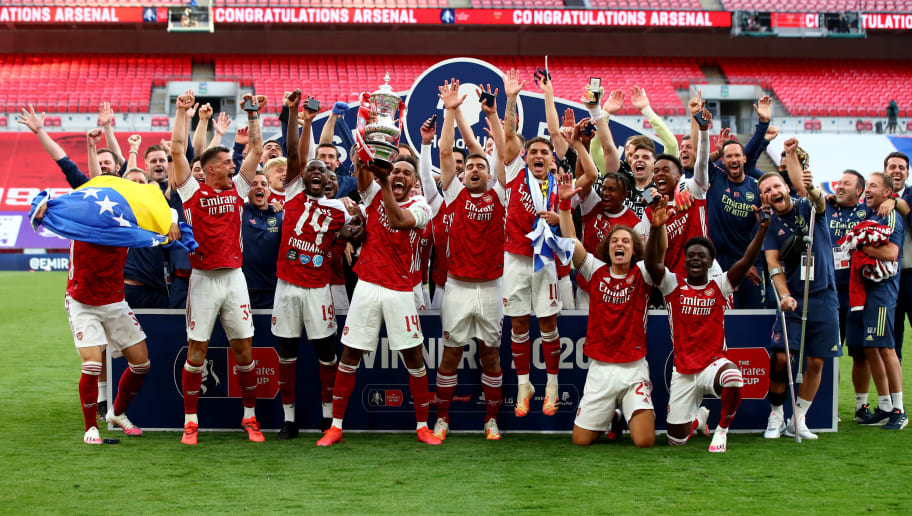 Arsenal Stars React to FA Cup Win After Chelsea Victory | 12up