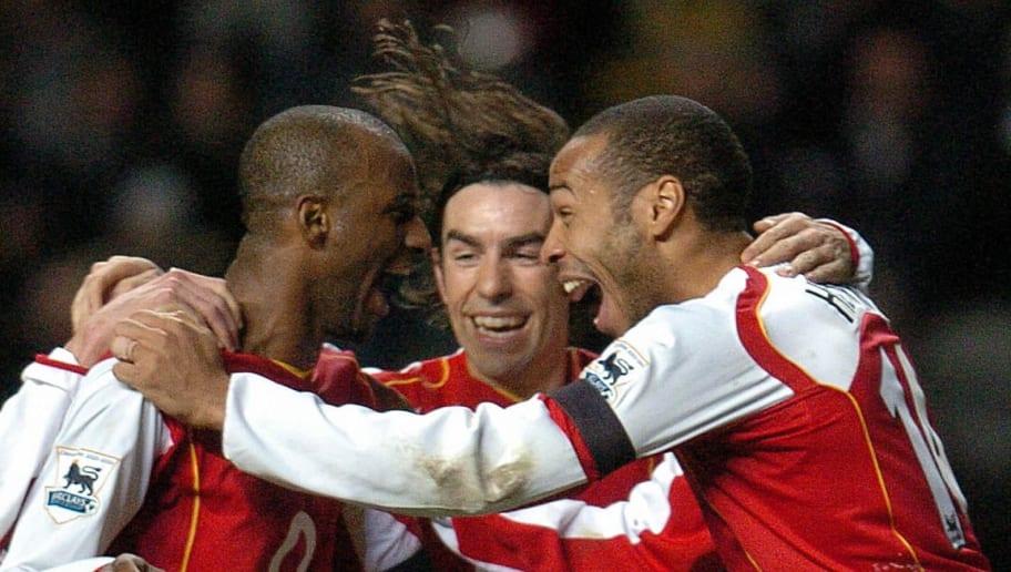 Robert Pires, Thierry Henry, Patrick Vieira