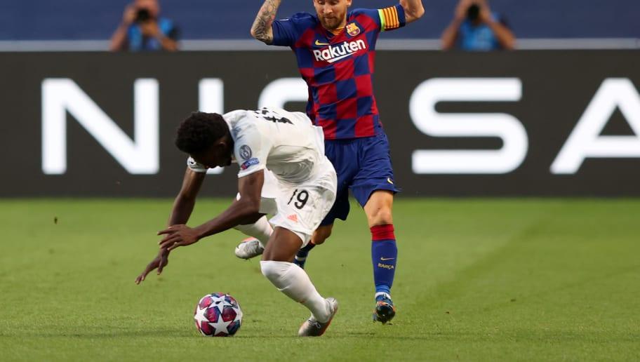 Lionel Messi, Alphonso Davies
