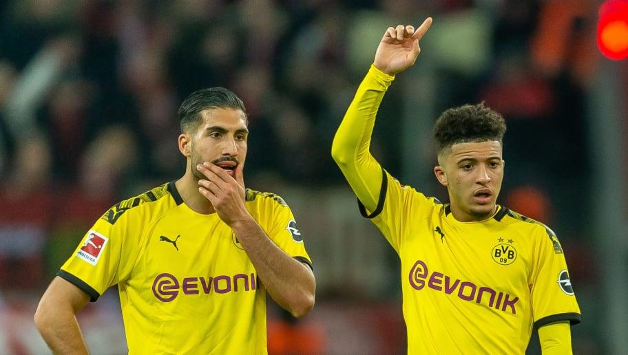 I see no Reason to put Manchester United above Borussia Dortmund ...