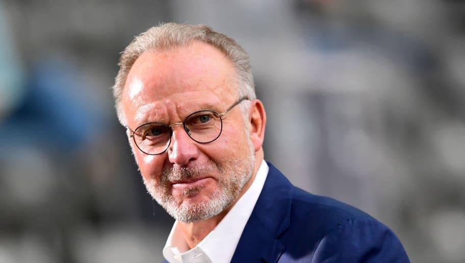 """Karl-Heinz Rummenigge hofft darauf, dass der FC Schalke 04 wieder """"zu alter Stärke"""" findet"""
