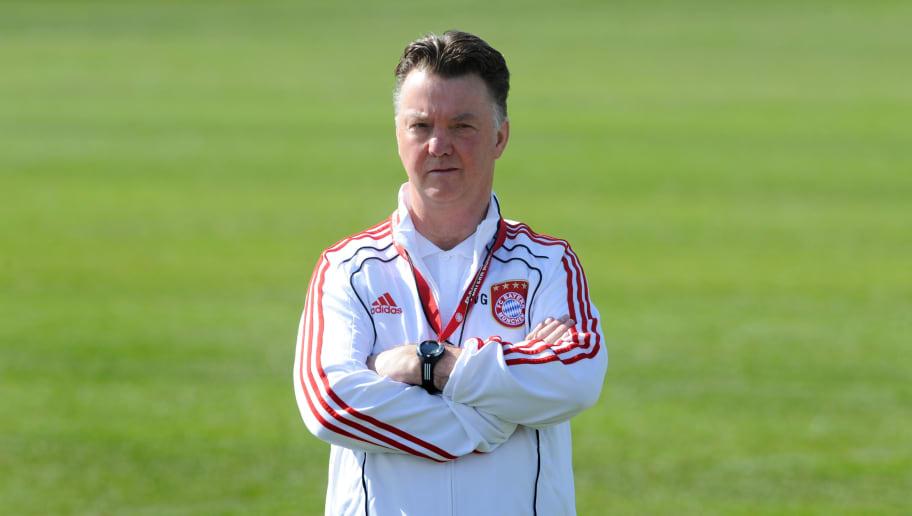 Bayern Munich's Dutch head coach Louis v