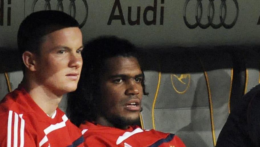Bayern Munich's midfielder Alexander Bau
