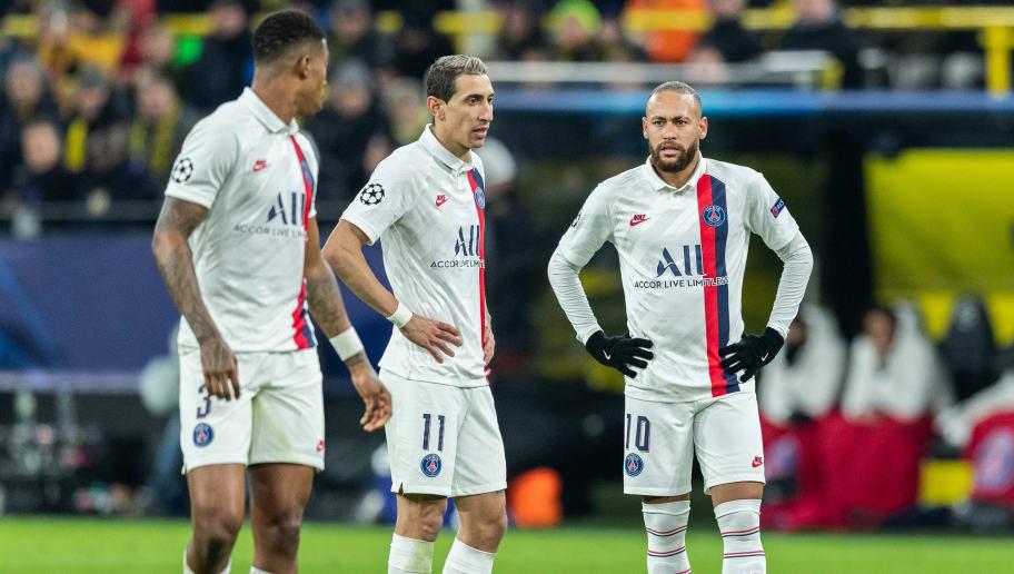 Neymar, Angel Di Maria, Presnel Kimpembe
