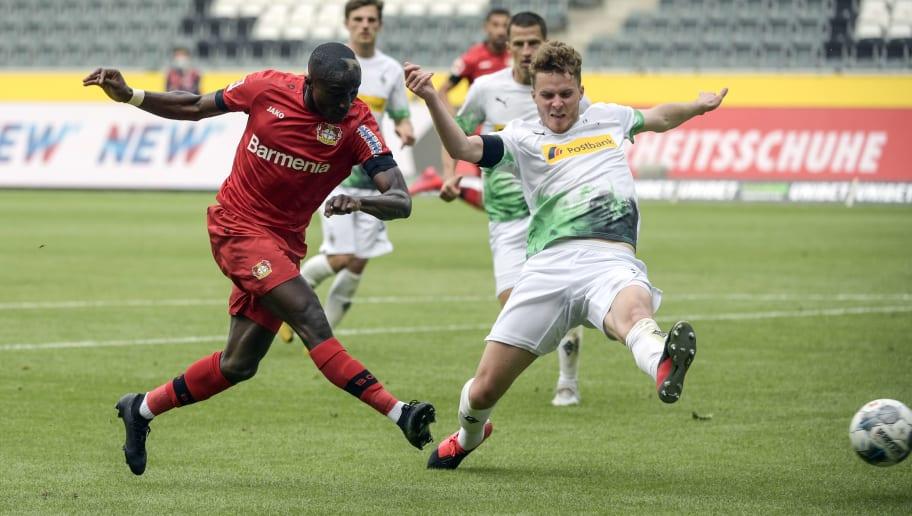 Kämpfen im Fernduell um Platz vier: Bayer 04 Leverkusen und Borussia Mönchengladbach