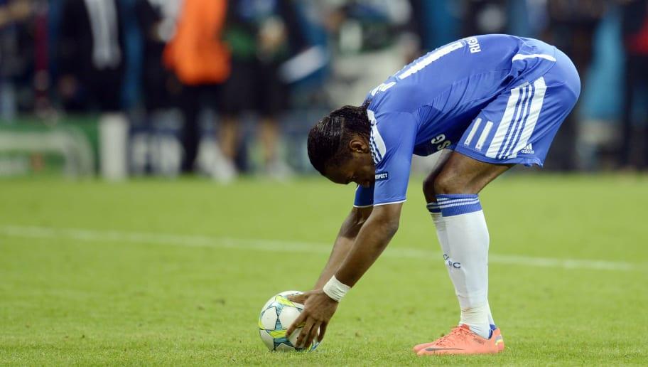 Chelsea's Ivorian forward Didier Drogba